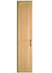 Large vinyl door